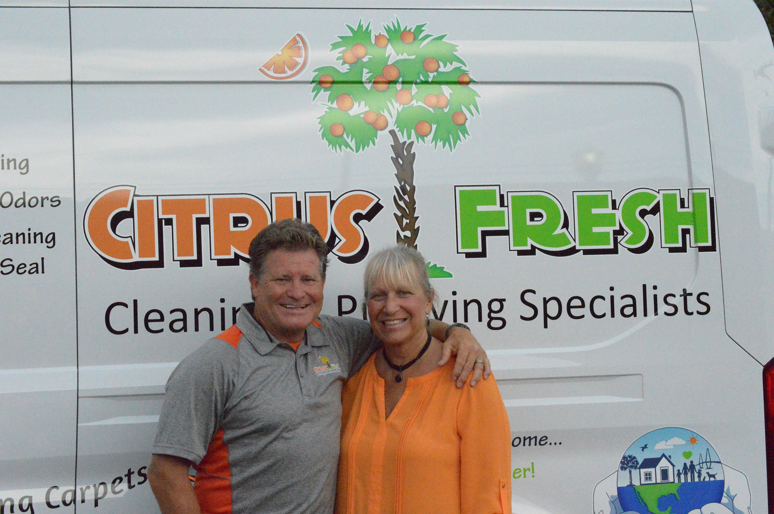 Greg Mary Broome Citrus Fresh Carpet Amp Rug Cleaning Services