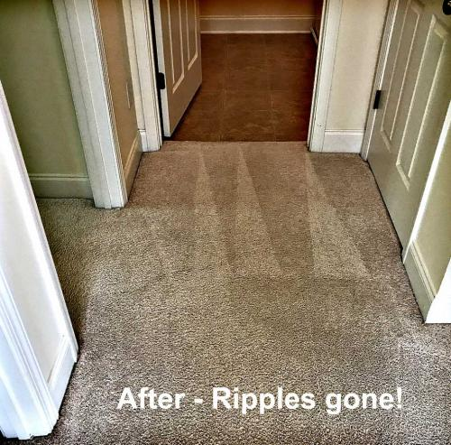 After Carpet Stretching